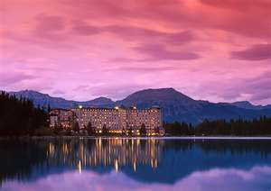 Chateau Lake Louise, Canada    Been there, but would go back anytime. My very favourite spot on this planet. : )