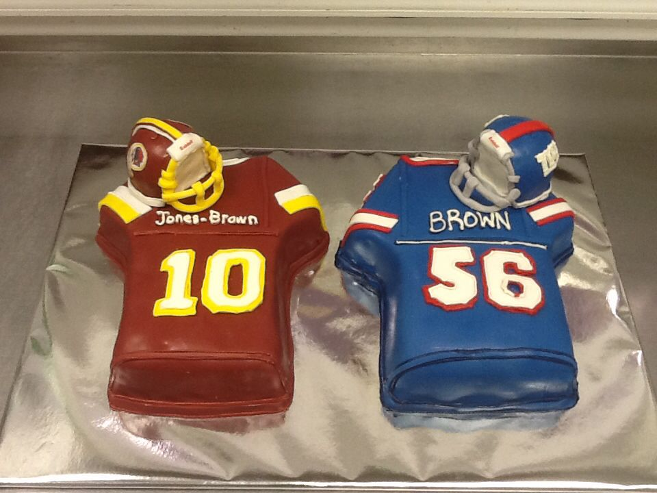 Football theme Grooms cake