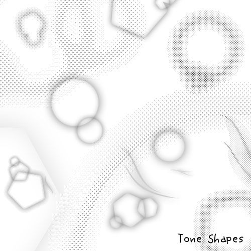 Tone Shapes By Kabocha Deviantart Com On Deviantart Screentone Graphic Novel Layout Comic Tutorial