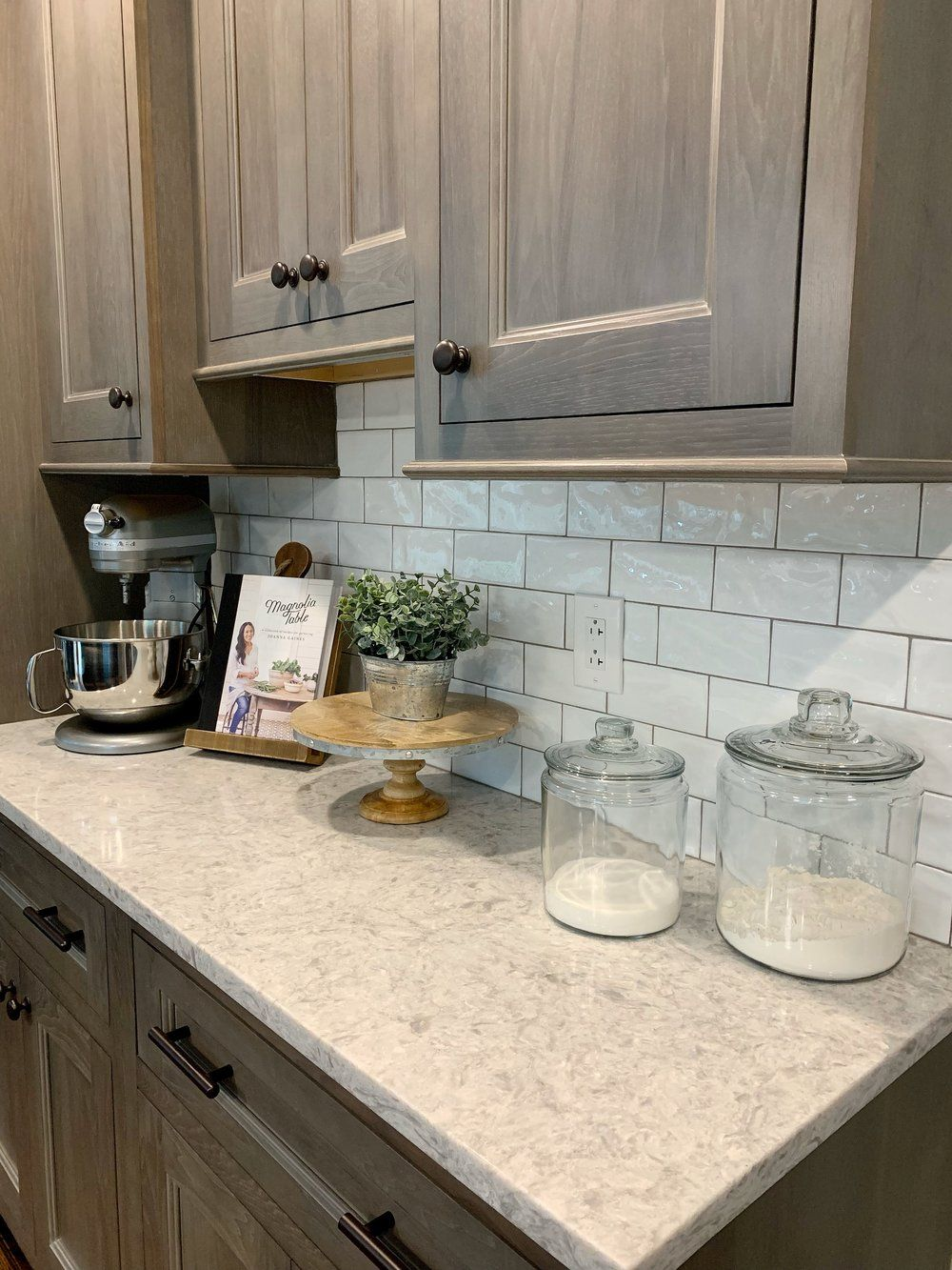 Ideas for Kitchen Countertop Decor in 2020 (With images ... on Kitchen Counter Top Decor  id=58704