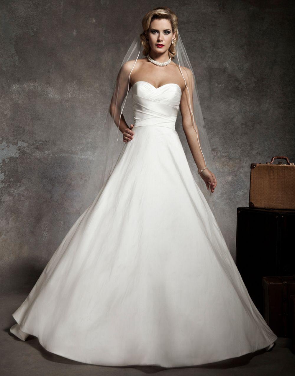 Justin Alexander Wedding Dresses Style 8635 Strapless Sweetheart
