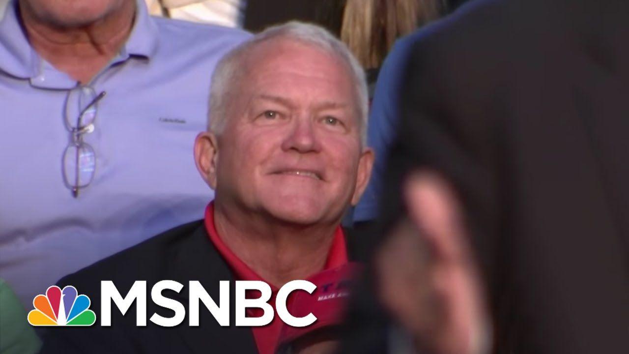 Disgraced Florida Congressman Sits Behind Donald Trump | Rachel Maddow |...