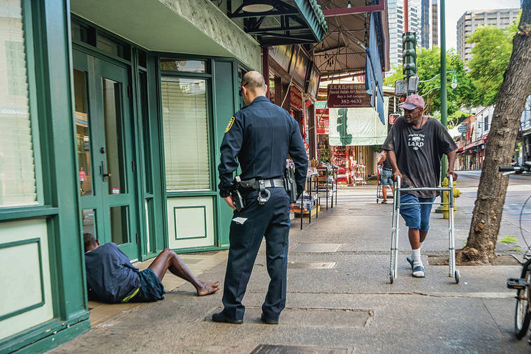 Homeless Program Shows Positive Results After First Year Honolulu Star Advertiser Honolulu Police Positive Results Homeless