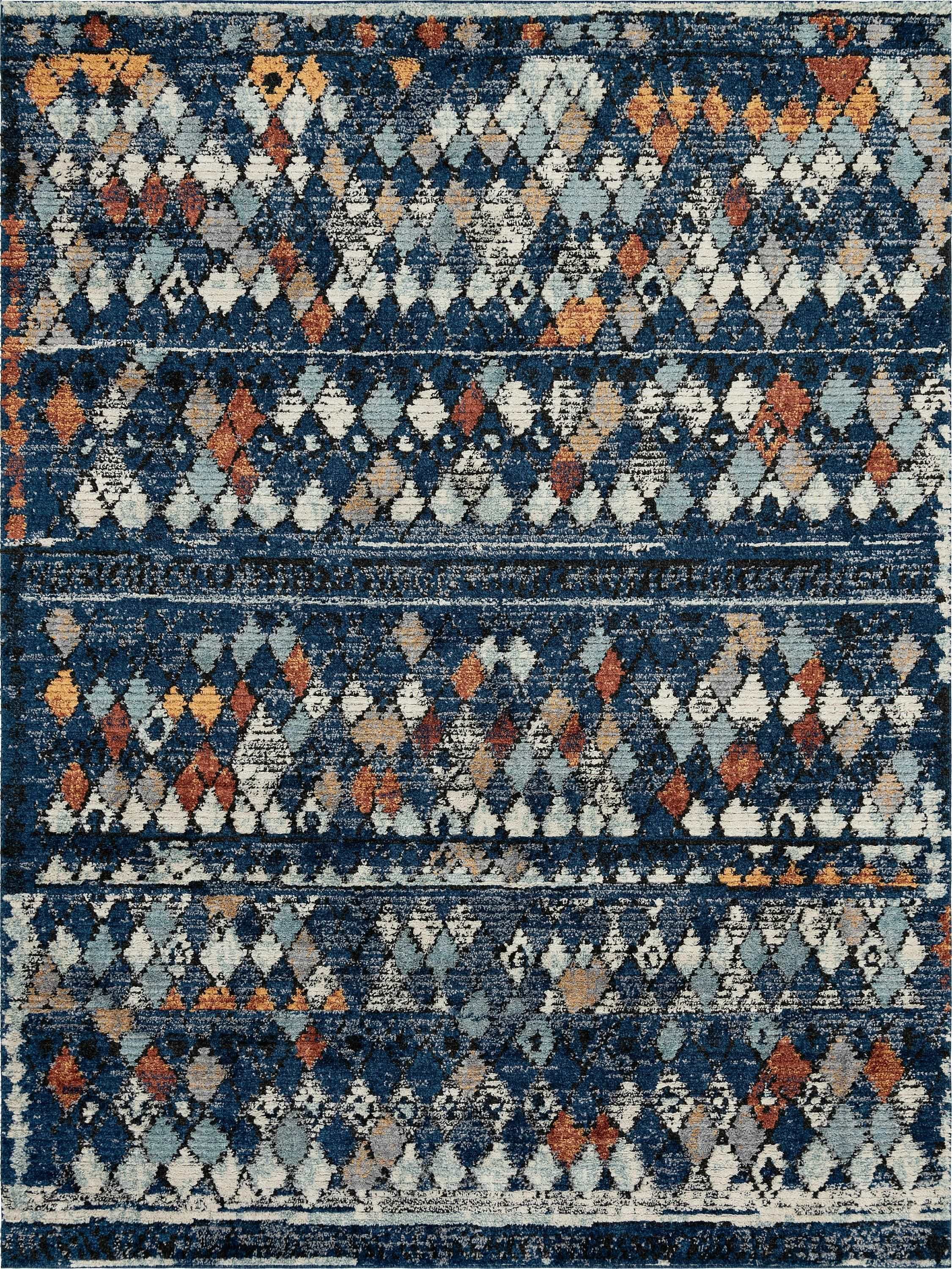 Navy Blue 9 X 12 Morocco Rug Esalerugs Rugs Blue Stain Shed Colours