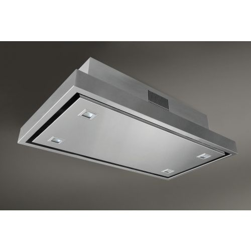 Elica Stratos Re Circulation Ceiling Mounted Hood Stratus Cooker Hoods Ceiling Mounted Extractor Hoods Ceiling Exhaust Fan Exhaust Fan Kitchen Kitchen Ceiling