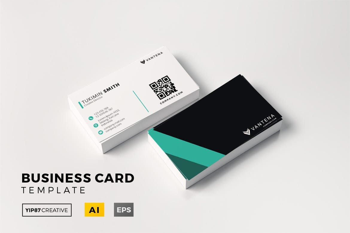 Business Card Template Ai Eps Business Cards Cards Business