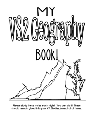 VS.2 Geography Notes from Kristin Jennison on