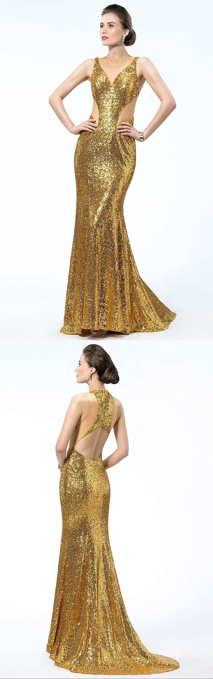 Gold prom dresses long prom dresses prom dresses trumpet