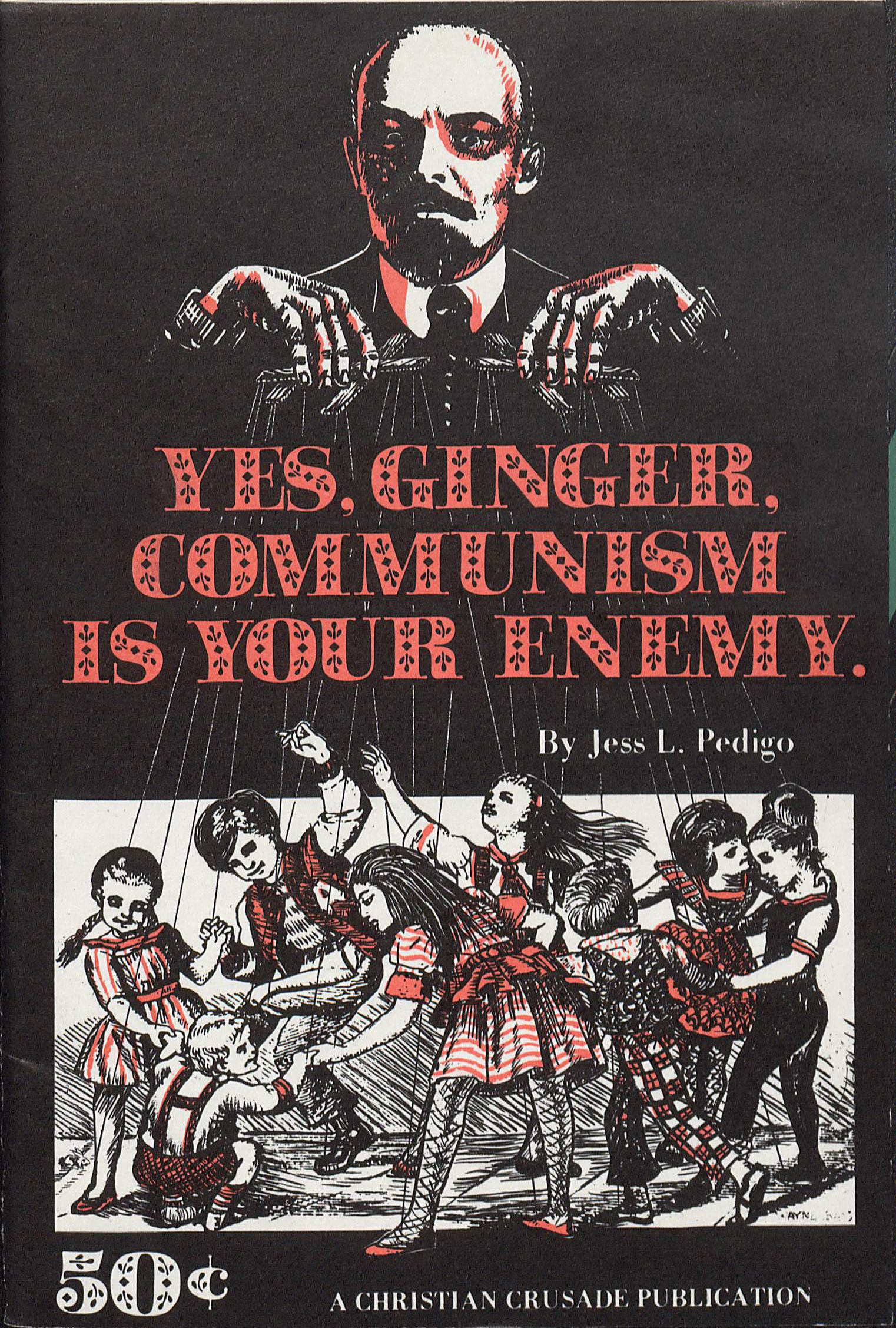 Book Telling The Public About The Dangers Of Communism