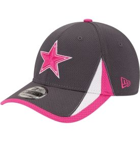 66fd11404 New Era Men's Dallas Cowboys Breast Cancer Awareness 39Thirty Training Camp  Flex Fitted Hat - Dick's Sporting Goods