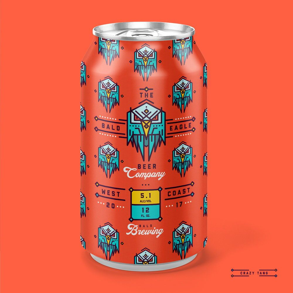 Bald Eagle Beer Co Has Some Seriously Bold Packaging Beer Company Beer Bald Eagle