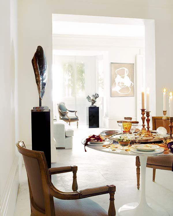 Comedores modernos room interiors and living rooms - Decoracion comedores modernos ...