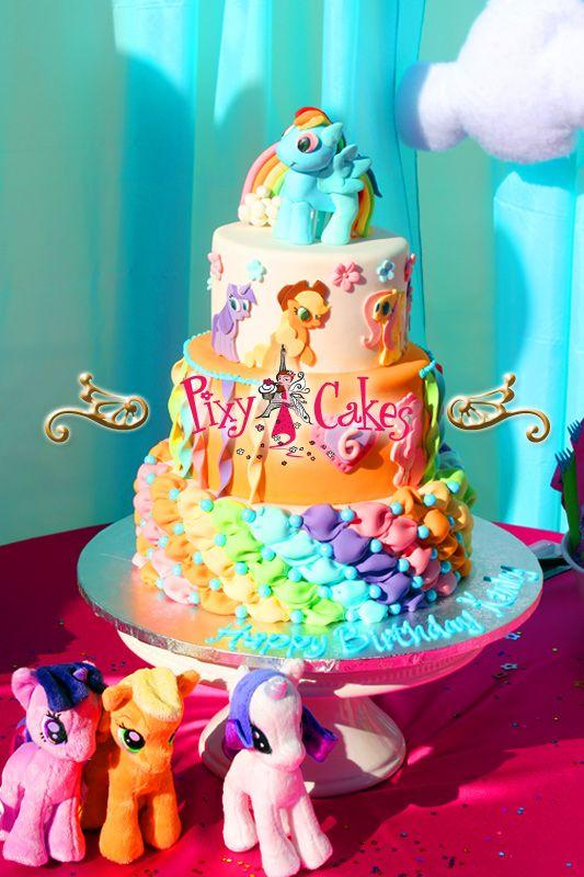 Pixy Cakes Birthday Cake My Little Pony Girl Wedding Cupcake Towers Cupcakes Best Tasting Award Winning Bakery Bakeries Unique Custom Phoenix Avondale