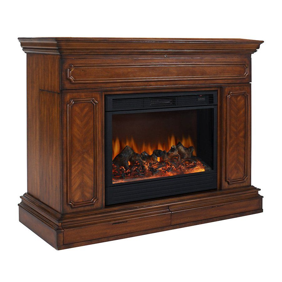 60 low profile electric fireplace with bluetooth speakers at big rh pinterest com