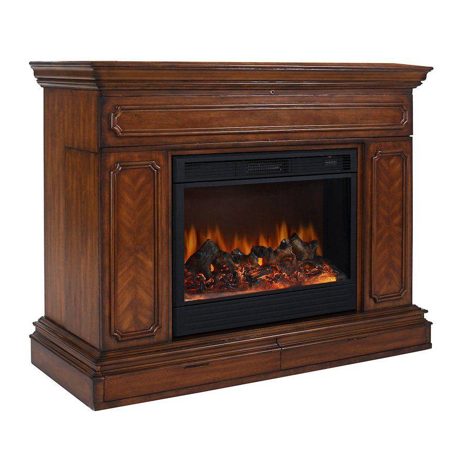 tv lift cabinet at004602 remington electric fireplace tv stand atg rh pinterest com