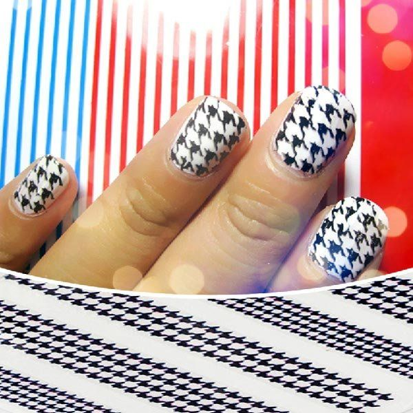 Colorful houndstooth pattern design decal nail art sticker only us colorful houndstooth pattern design decal nail art sticker only us172 colorful houndstooth pattern design decal prinsesfo Choice Image