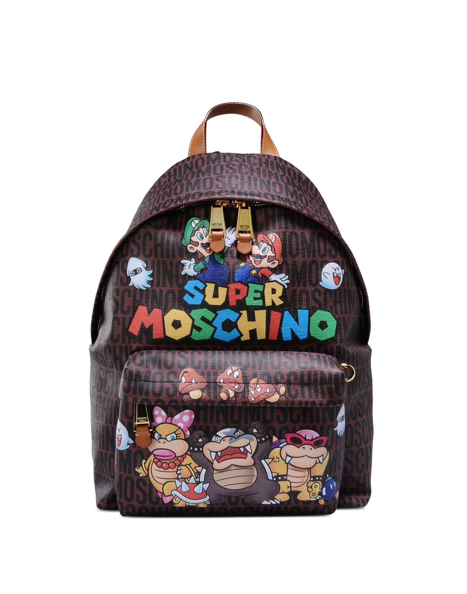 Super Mario Backpack - Moschino Online Store  3eb7ad6f18ee0