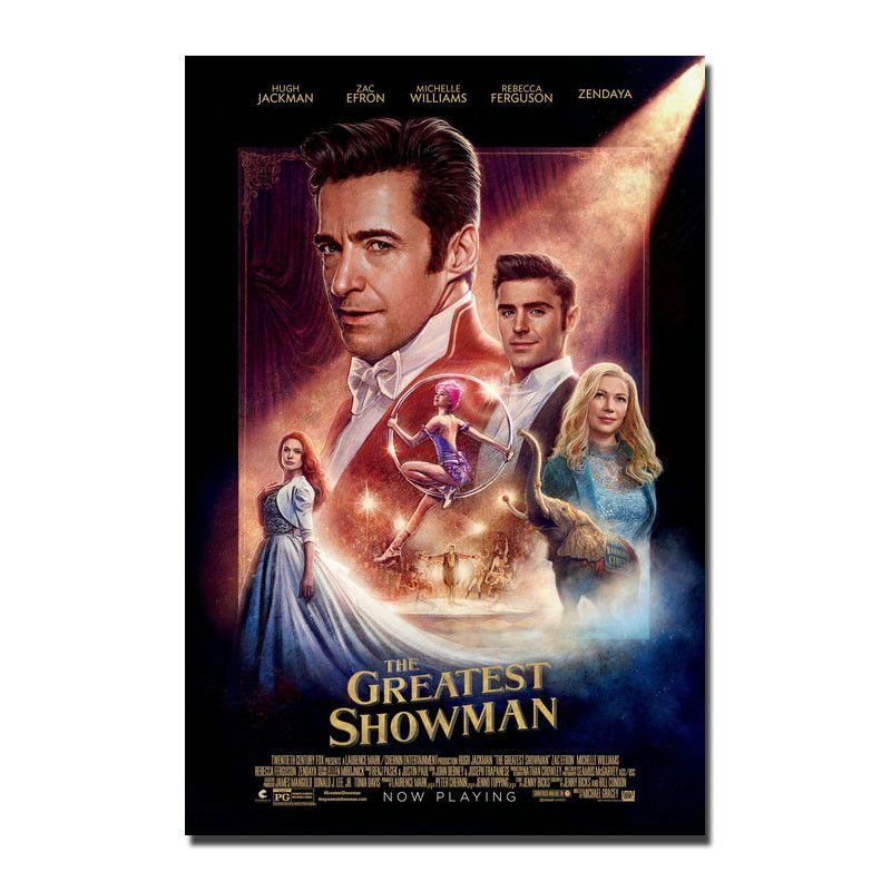 The Greatest Showman Movie Poster 12x18