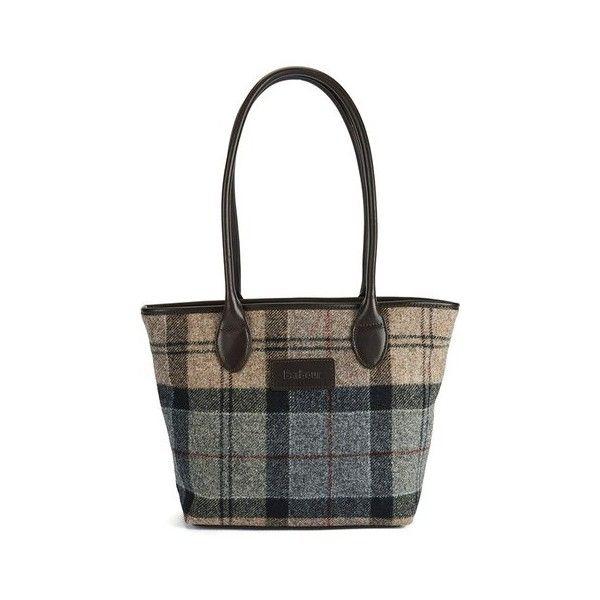 Barbour Dee Tartan Handbag 200 Liked On Polyvore Featuring Bags Handbags