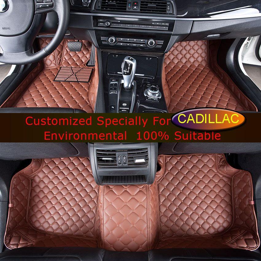 Car Floor Mats For Cadillac Ats Atsl Cts 2 4 Doors Ct6 Sls Srx Xts