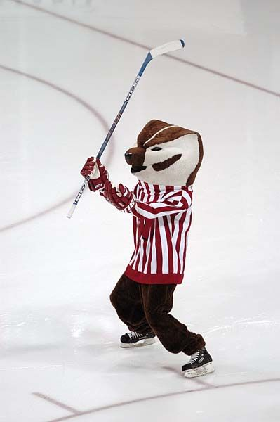 Bucky Badger Dman You Badger Hockey In Ten National Titles Hockey