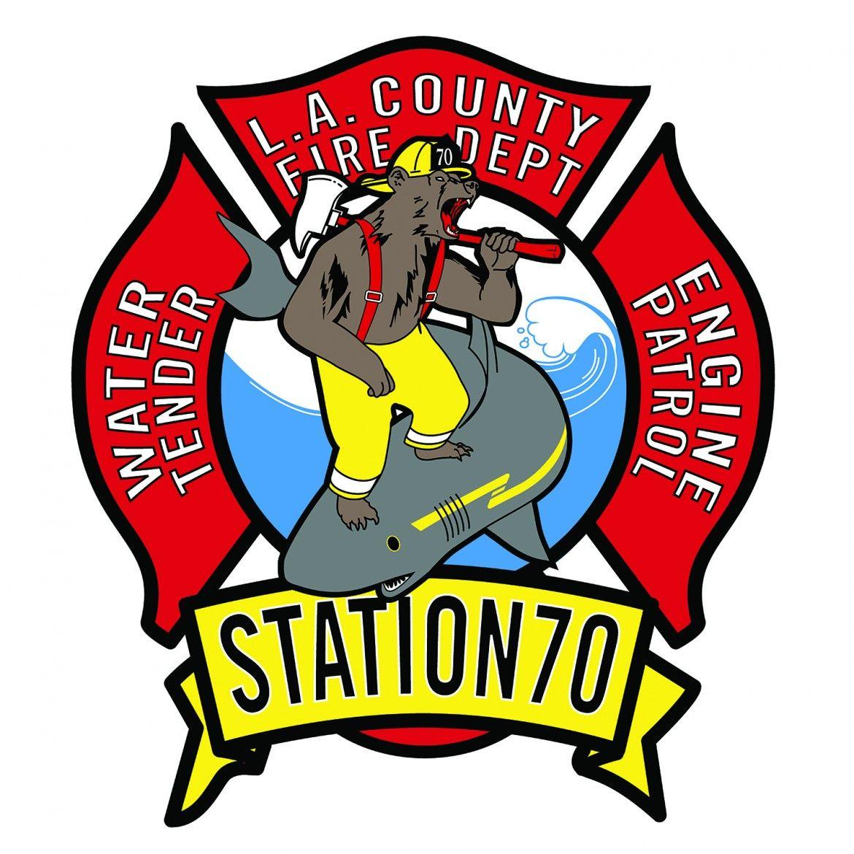 LA County Fire Dept. Station 70 Fire dept, Firefighter