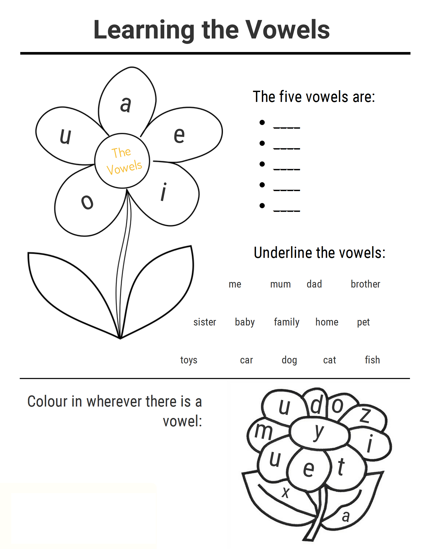 Printable Ks1 Worksheets