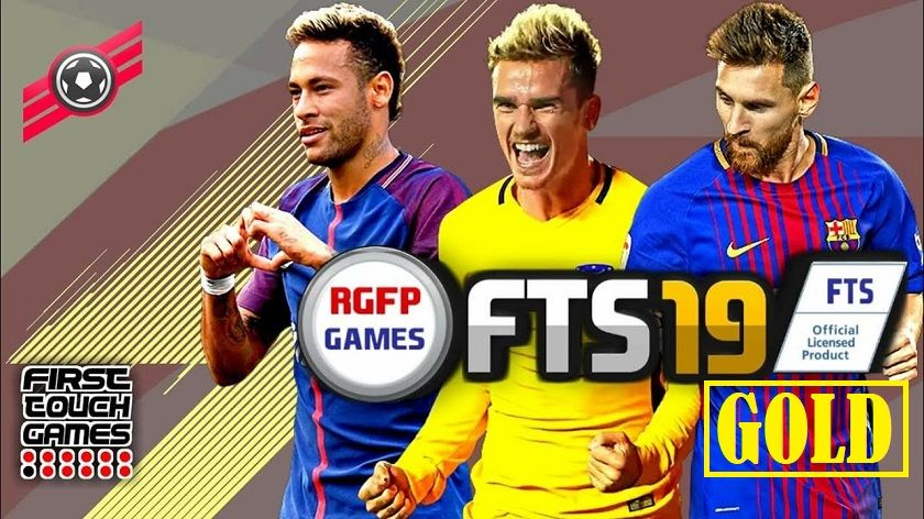 First Touch Soccer 2019 Gold - FTS 19 Gold Mod Apk + OBB