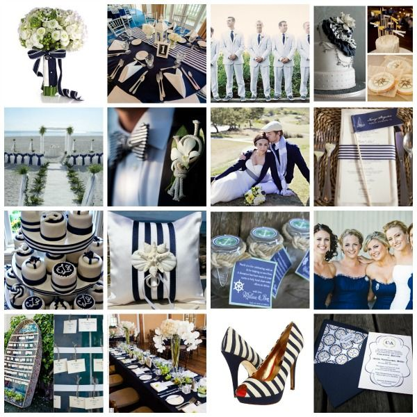 All Aboard Shipmates Styling And Ideas For A Nautical Wedding Theme