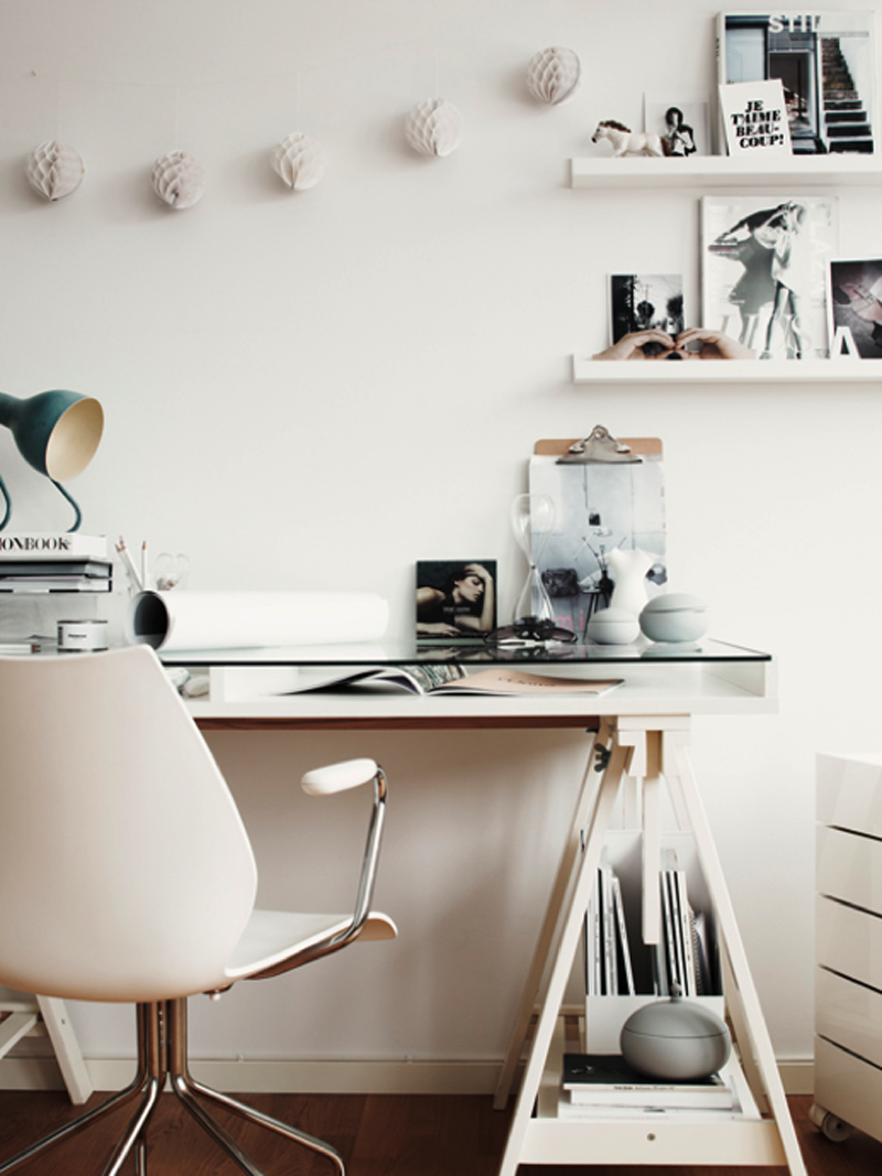 office space inspiration. Office Space Inspiration - One Of My Favorite Desk Options. E