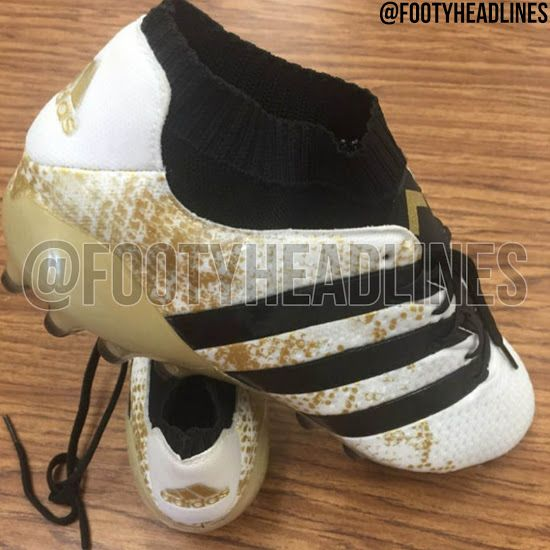 best sneakers a8858 65f2e White   Gold Adidas Ace Primeknit Stellar Pack 2016-2017 Boots Leaked -  Footy Headlines