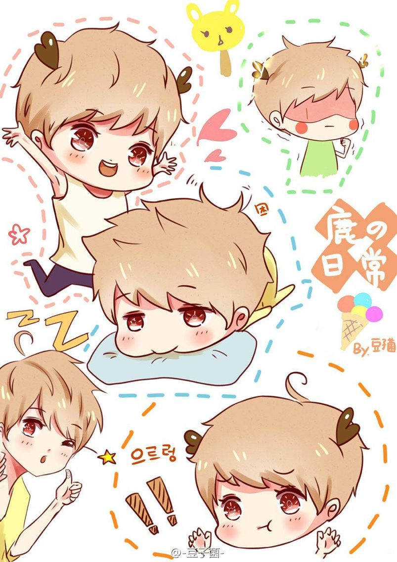 fan for iphone exo luhan chibi fan see logo on pict for the owner 2228