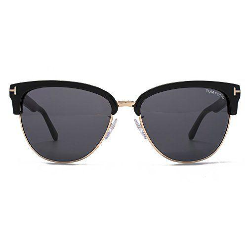 Tom Ford Damen Sonnenbrille »Fany FT0368«, schwarz, 01A - schwarz/grau