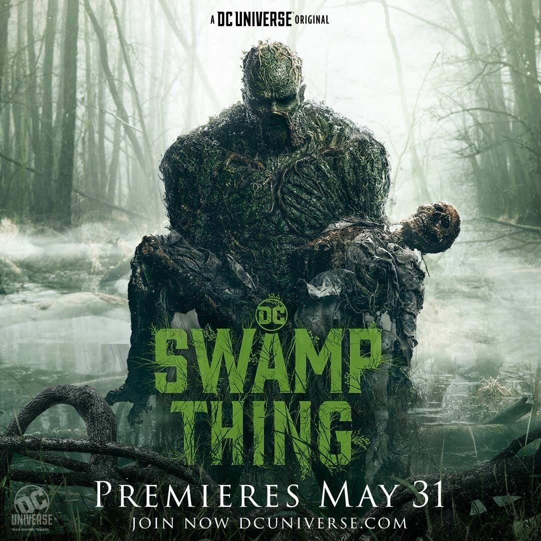 Swamp Thing New Trailer and Poster Released By DC - Animated Times #swampthing