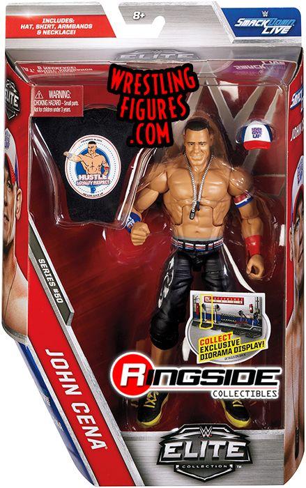 John Cena Wwe Elite 50 Wwe Toy Wrestling Action Figure John Cena Wwe Elite John Cena Toys
