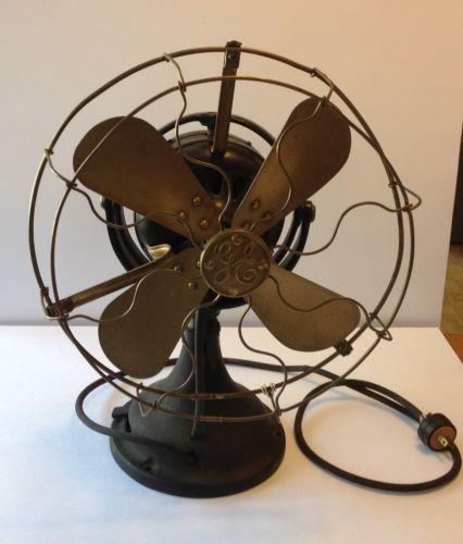 Antique Vintage Old Ge Fan Great