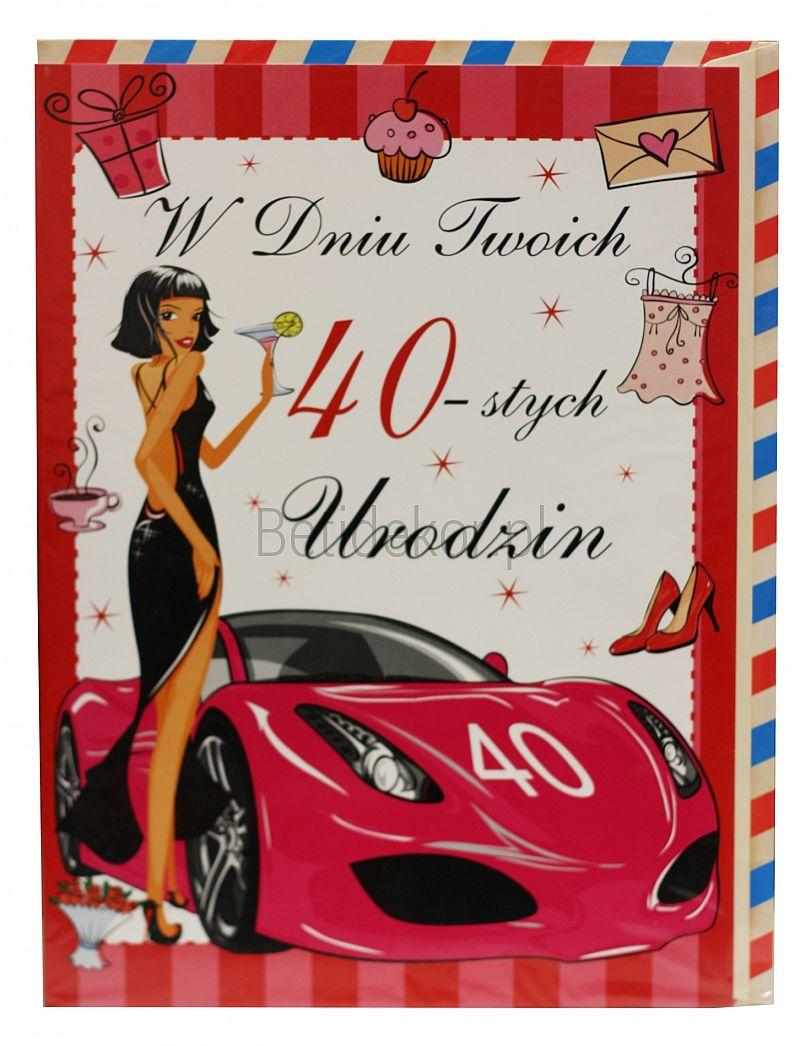 Tytul Mojego Artykulu 40 Urodziny Kartki Urodzinowe Urodziny