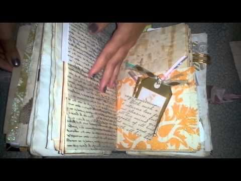 Original pinner sez: How I Use My Junk Journals - YouTube