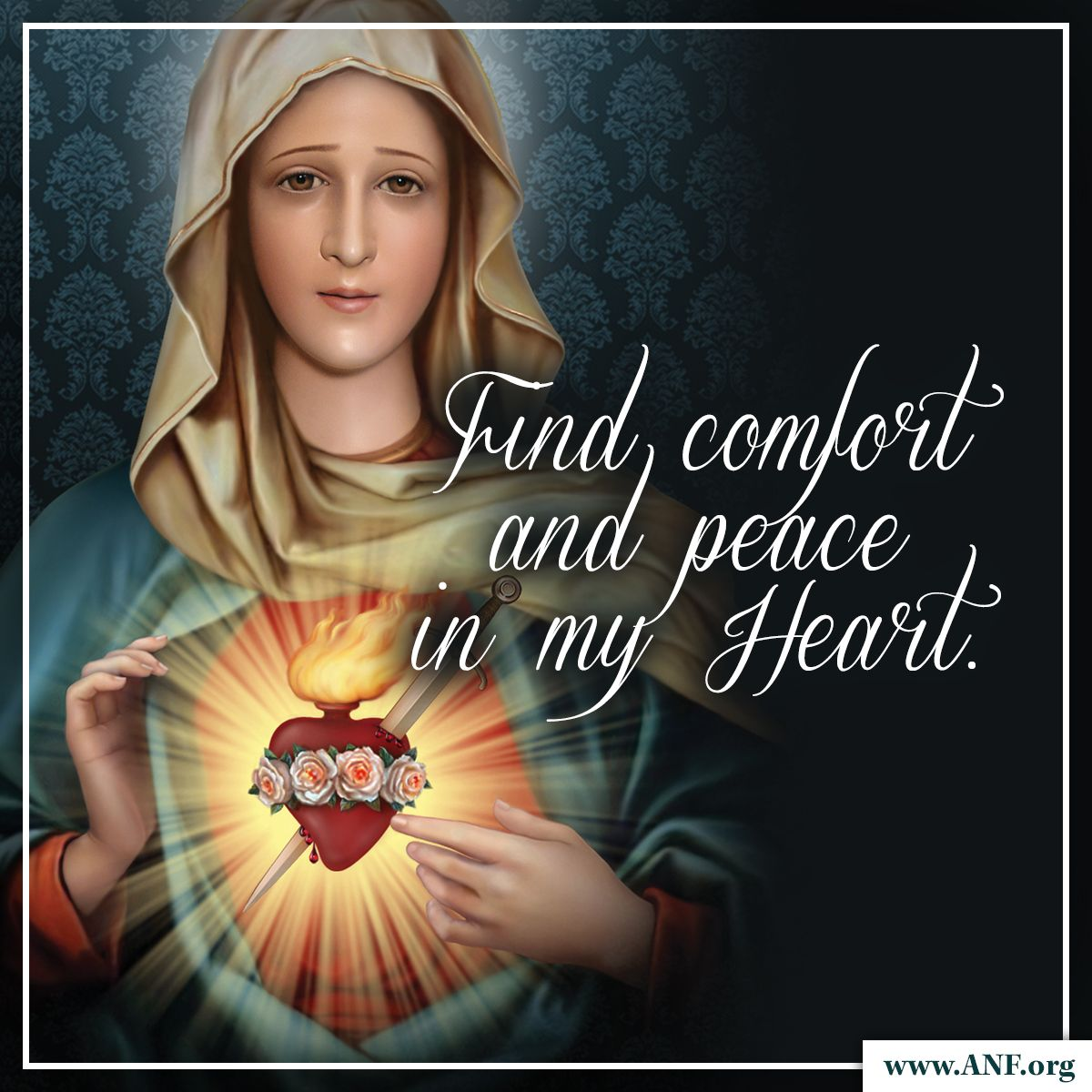 Our Blessed Mother will lead you to her Son! Mother mary