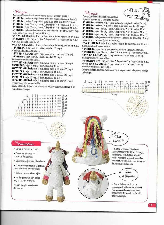 68 Patrones de amigurumi en español | Patrones amigurumi, Patron ... | 960x698
