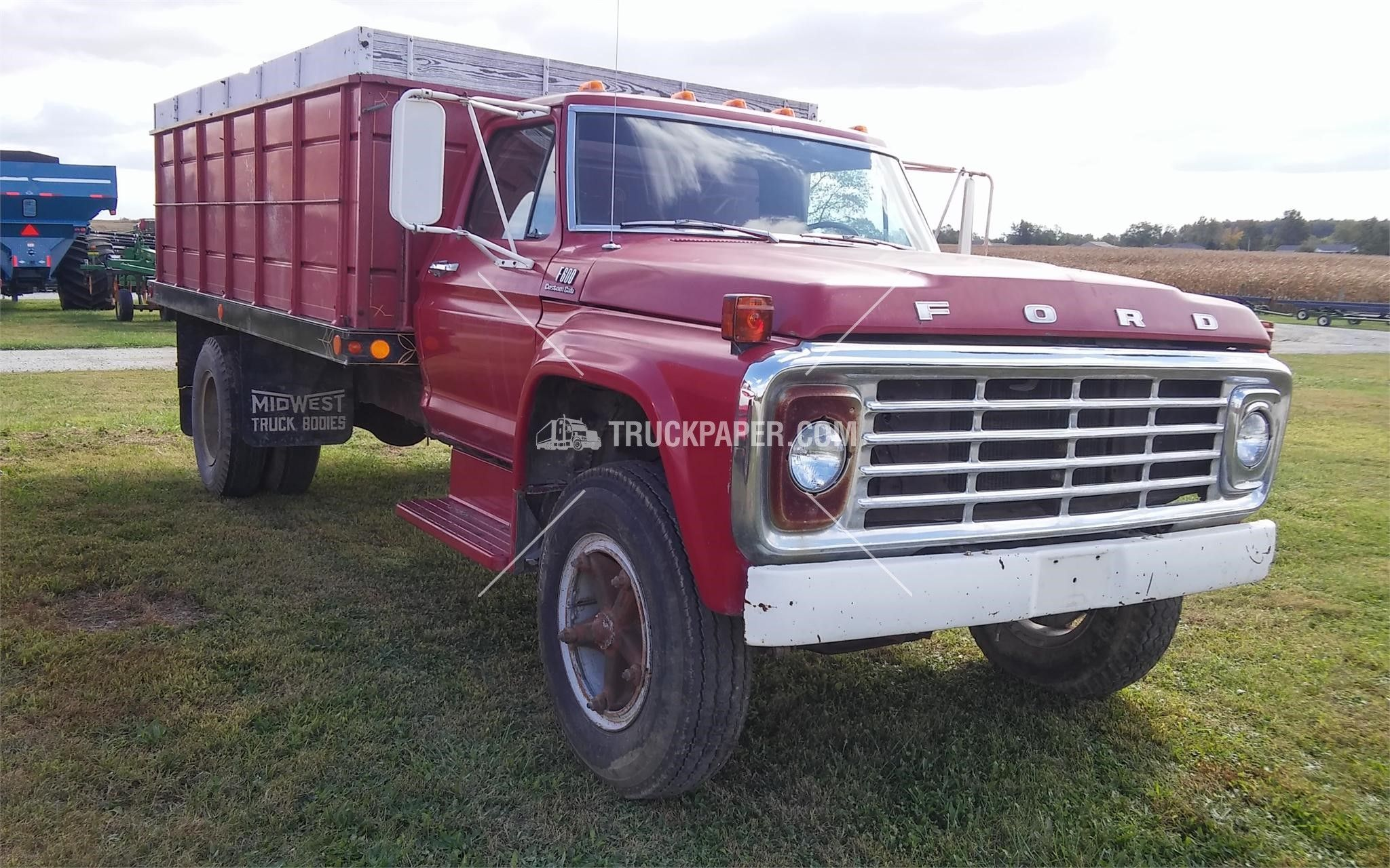 Grain Trucks For Sale >> 1976 Ford F600 Medium Duty Trucks Farm Trucks Grain Trucks For