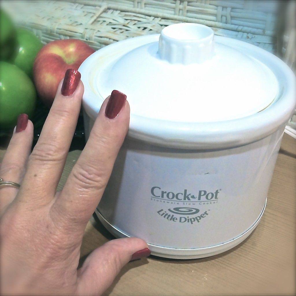 This Is The Super Small Crock I Used To Make Home Made Caramel Sauce For Halloween From Small Crockpot Recipes Mini Crockpot Recipes Crockpot Dessert Recipes