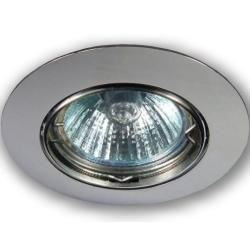 Photo of C-Light GmbH 230 V – Gu10 recessed spotlight 0149 shiny chrome C-Light GmbH