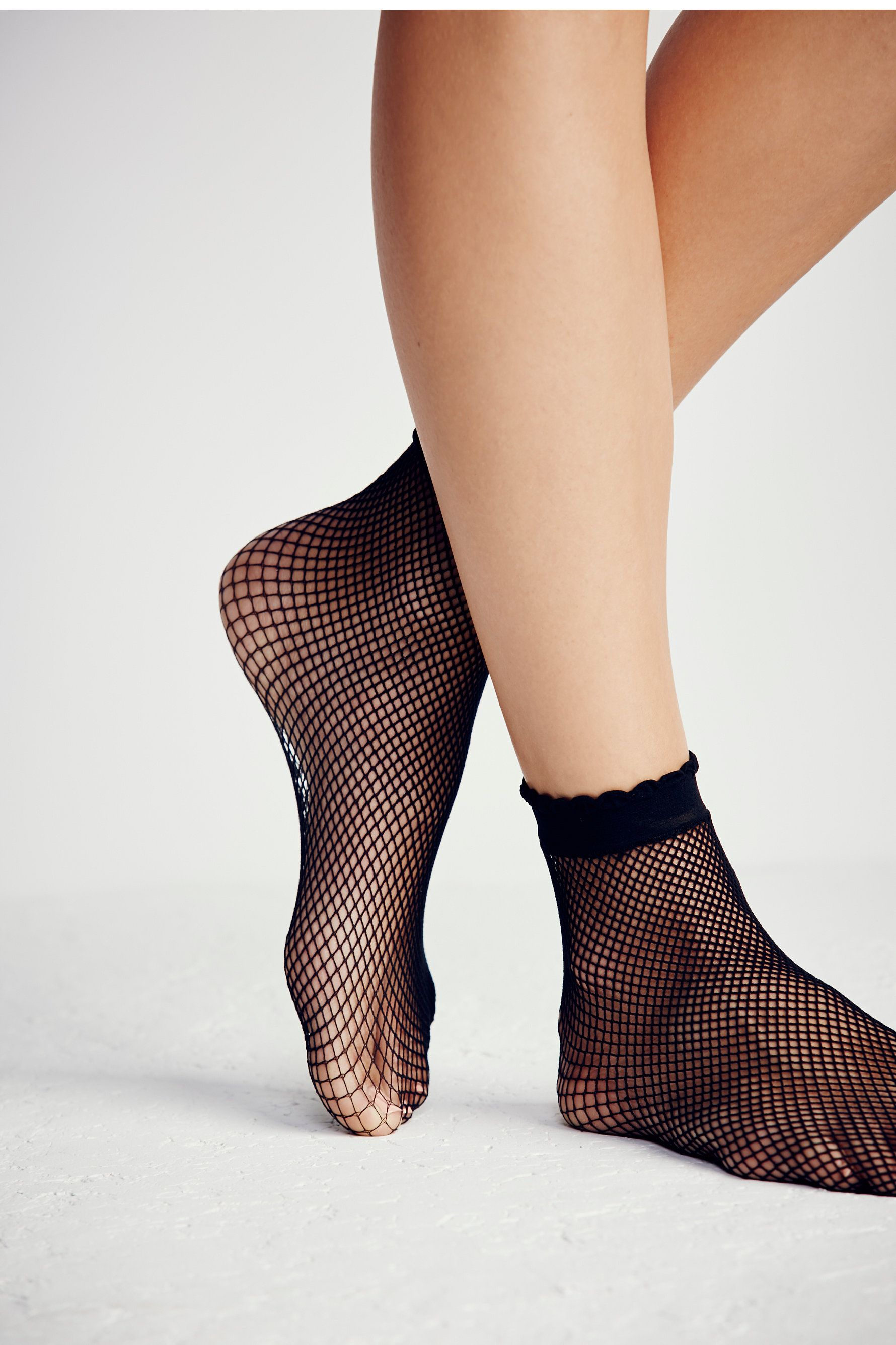 anklet heather sock at stretchy ribbed ankle bryant a accent pretty crochet socks featuring super pin elastic