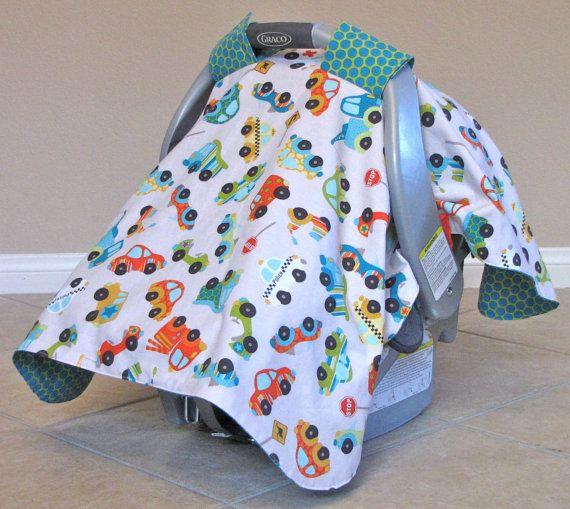 Carseat Canopy- Car seat Cover- Riley Blake Peak Hour- Car Seat Tent- Baby boy & Carseat Canopy- Car seat Cover- Riley Blake Peak Hour- Car Seat ...