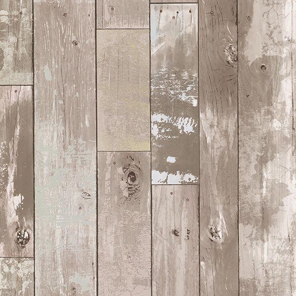 347-20130 Grey Distressed Wood Panel - Heim - Kitchen Bath Resource 3  Wallpaper by - 347-20130 Grey Distressed Wood Panel - Heim - Kitchen Bath