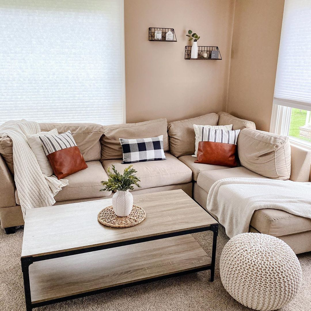 Living Room Decor Beige Living Room Tan Living Room Boho Decor Couch Ideas Couch Pillows Bo Beige Couch Living Room Tan Couch Living Room Tan Living Room Tan living room decor