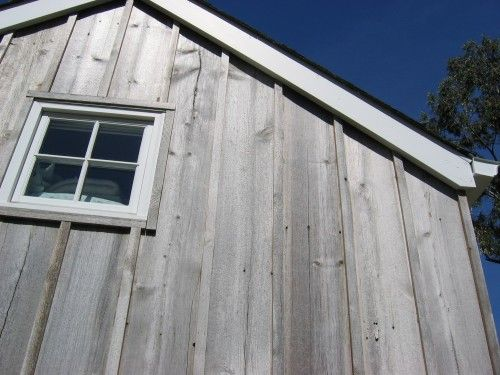 Weathered Board And Batten Exterior House Siding Wood Facade Board And Batten Exterior