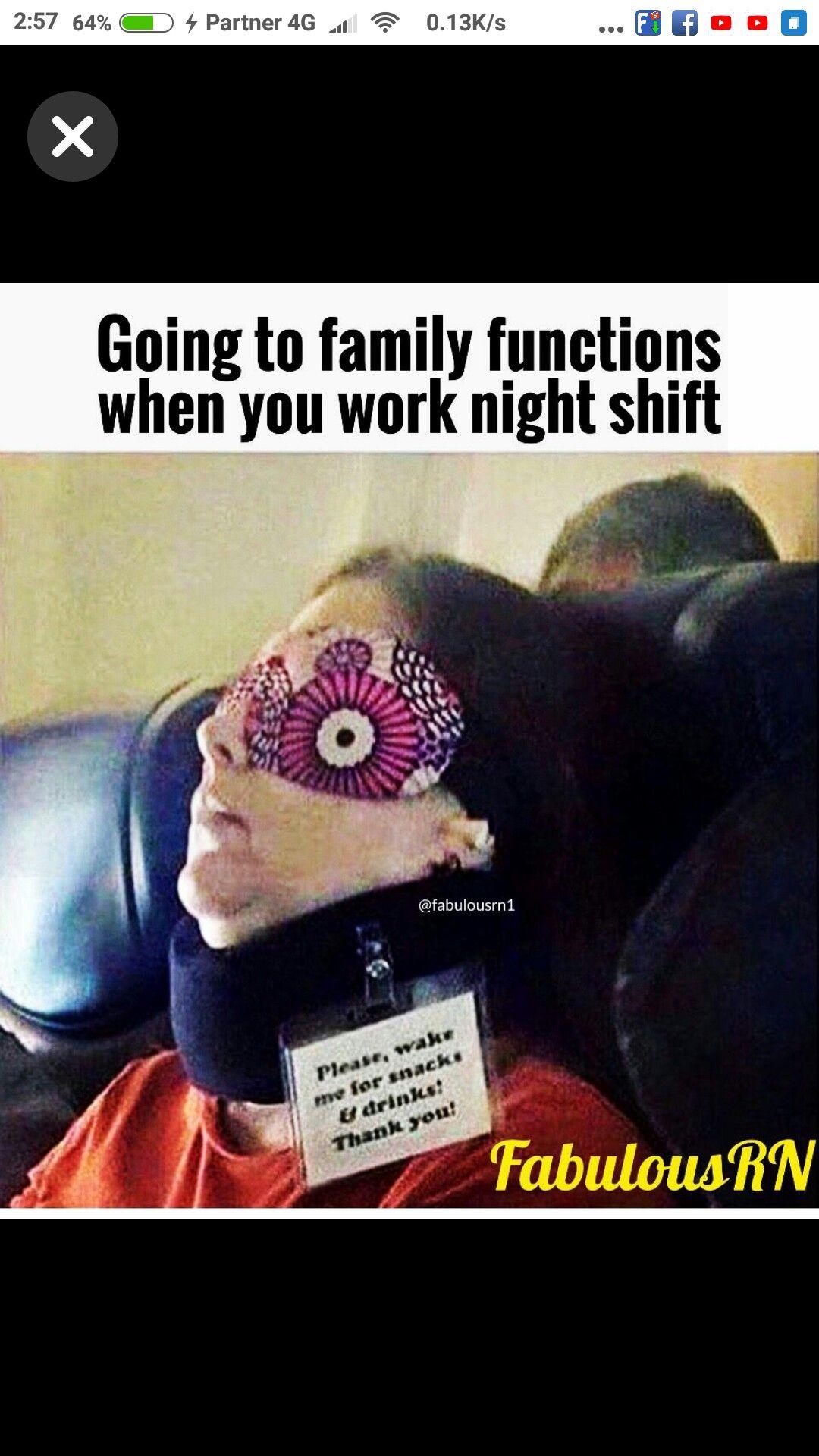 Bahahahha God Bless The Nurses Or Folks Who Work Late At Nite Or Like Vampires Lol Night Nurse Humor Night Shift Nurse Humor Night Shift Humor