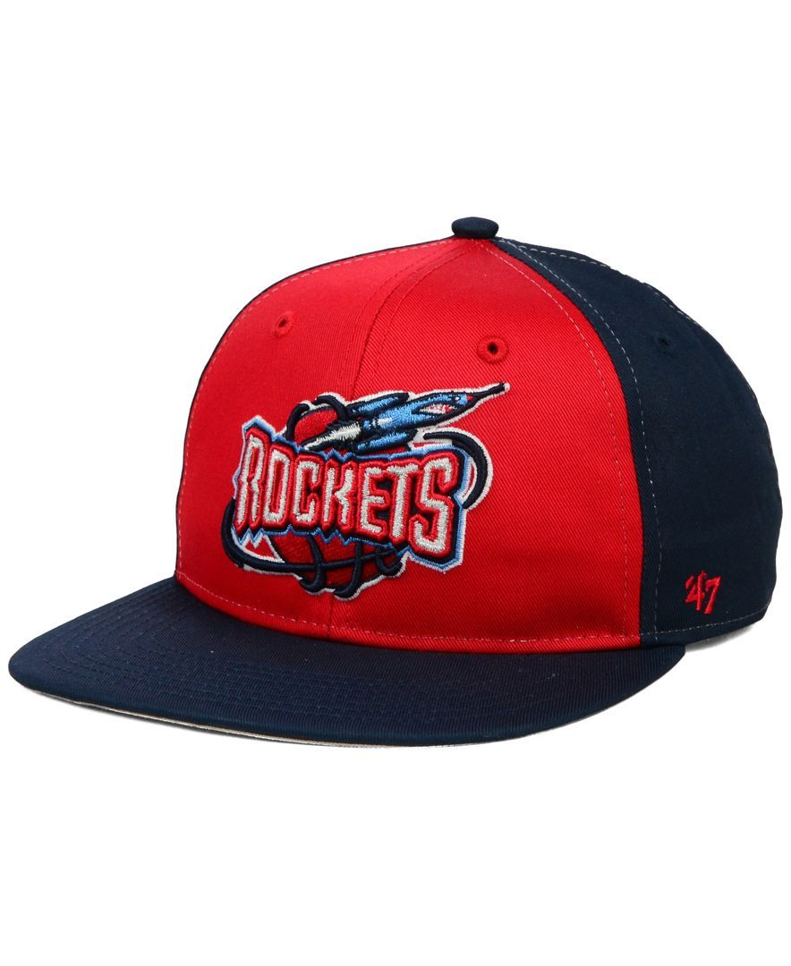 fd96150b22cc2 47 Brand Kids  Houston Rockets Kinnick Snapback Cap